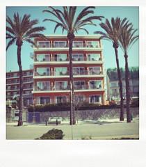 G11 (Nikola_A) Tags: beach vintage hotel spain palmtrees palma majorka