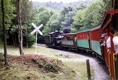Cass Crossing (Andy961) Tags: railroad train railway steam wv westvirginia aviary cass excursion csrr