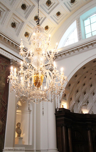 18th century crystal chandelier