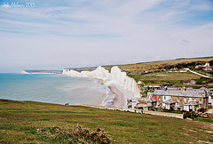 The White Cliffs (Jodi M.) Tags: england landscape sussex village whitecliffs cliffside southerncoast sevensisterscountrypark theenglishchannel