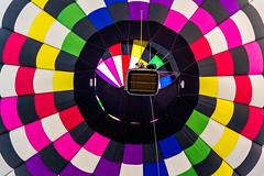 Hot Air Balloon (JGo9) Tags: colors festival basket kentucky ky balloon hotairballoon overhead danvilleky greatamericanbrassbandfestival