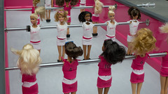 Barbie fussball (lionelofparis) Tags: fussball barbie babyfoot grandpalais