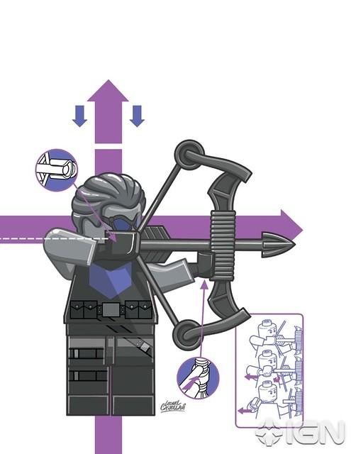 MARVEL 將推出多款LEGO 主題漫畫封面
