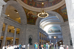 Under the Dome (hunter47d) Tags: utah nationalpark ut tour capitol saltlakecity rebelxs canoneosm