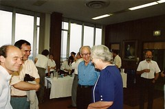 Joaquim Bruno, Josip Globevnik, Rudin Conference, Madison 1991 (ali eminov) Tags: joaquimbruno josipglobevnik walterrudin maryellenrudin celebrations mathematicians professors friends conferences rudinconference madison