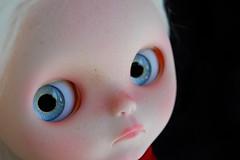 Iris (Fausto & Gretchen ☆) Tags: iris game alpaca doll blythe drawn custom reroot
