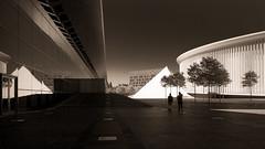 photographie Martial GAÏGA (legrainnumerique) Tags: france luxembourg paysage escalier ville metz lignes ombres urbain moselle métalique graphisme courbes