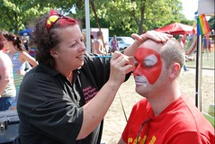 "face-painting-plymouth-pride-2013 • <a style=""font-size:0.8em;"" href=""https://www.flickr.com/photos/66700933@N06/9374201568/"" target=""_blank"">View on Flickr</a>"