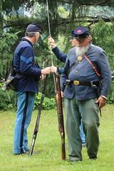 IMG_1323 (temeraire06) Tags: civilwar goosecreek reenactors loudouncounty upperville loudounvalley gettysburgprelude companyc20thmaine