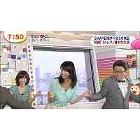 加藤綾子 巨乳ブルブル1