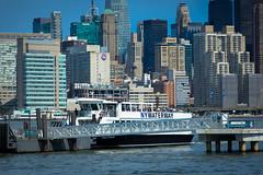 Manhattan Skyline from Brooklyn (john.gillespie) Tags: nyc ny newyork ferry skyline brooklyn buildings boat waterfront skyscrapers manhattan williamsburg greenpoint