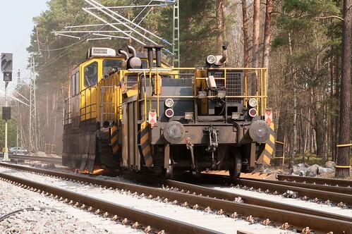 SCG 23 Gleis- und Weichenschleifmaschine VOESTALPINE