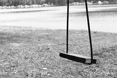 Old Wooden Swing by J We, on Flickr