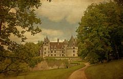 Le Chateau de Puyguilhem (aenee) Tags: france castle textures villars brantome valdeloire aenee memoriesbook texturetuesday dsc3003 magicunicornmasterpiece kimklassen chateaudepuyguilhem 12062013