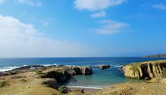 Furnas (#Noo) Tags: sea sky cliff beach mar rocks pretty playa cielo sampedro acantilado rocas furnas