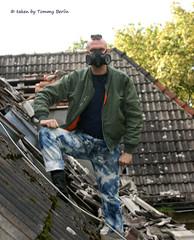 typen2115 (Tommy Berlin) Tags: men punk jeans levis bleached bomberjacke domestos