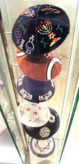 Fun Kippot (miriam langsam) Tags: berlin museum jewish yarmulke kipah kipa kippa yarmulka yarmelke kippotyarmlke