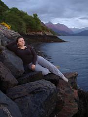 Littoral life (selkovjr) Tags: sunset red tide low kelp shore natalia mussels natasha tasha a87 lochduich glenshiel sgurrfhuaran sgurrmhicbharraich sgurrnacarnach sgurrantsearrach