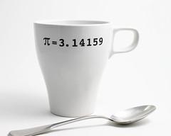 White Mug with Navy Pi (lltownley) Tags: white art cup coffee ceramics geometry coffeecup navy pi math mug pottery coffeemug etsy whiteandnavy