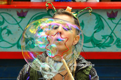 Bubble blowing (Throwingbull) Tags: costumes english festival century costume md village grove character maryland bubbles blowing tudor blow bubble middle 16th ages renaissance crownsville revel fairie 2013