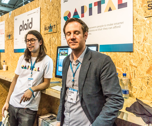 Web Summit - George And Hendrik From Sweden Representing Qapital