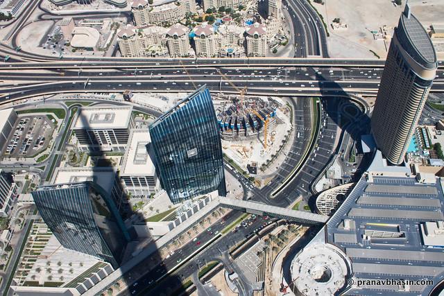 Burj Khalifa Shadow, Dubai