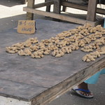 Honiara central market, peanuts