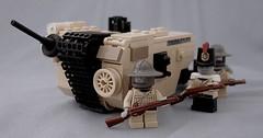 Regent Ryan's Rectal Ravager (Mechanekton) Tags: tank lego wwi vehicle tweepunk dieselpulp monotread scottynamedit