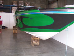 Custom Peterbuilt & Boat