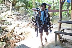 Harnesses (Ursula in Aus) Tags: thailand jungle kohsamui canopy zipline flyingfox earthasia