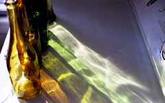 old bottles /  color / sunlight (bluebird87) Tags: leica bottles kodak dxo epson 100 v600 m6 ektar c41