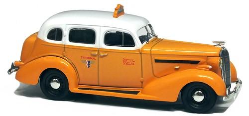 IXO Buick Special taxi NY 1936
