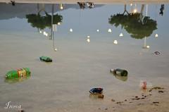 Ao nuevo (inma F) Tags: santacruz navidad luces agua reflejo tenerife plazaespaa lio celebraciones naturalezapaisaje
