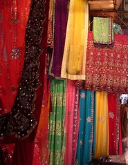 Sarees in Chowri (PepaLand) Tags: india portraits canon delhi indian markets festivals ixus retratos 105 olddelhi chowk jamamashid indianstreetphotography indianportraits travelinindia streetartphotography exploringindia portraitslife delhichandni delhiinindia retratosenindia