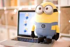 Minion (Trayay) Tags: dave laptop minion expedit macbook despicableme