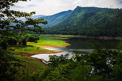 20120510_030 (Patrick Foto ;)) Tags: mountain tree green nature water river landscape thailand view dam