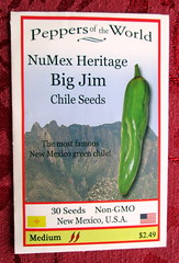 NuMex Heritage Big Jim Chile Seeds (genesee_metcalfs) Tags: chile newmexico pepper gardening vegetable seeds hotpepper