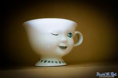Eye Spy (Daniel M. Reck) Tags: eye cup glass smile face ceramic unitedstates charlotte decoration northcarolina creepy mug wink