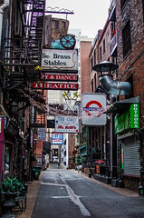 Printers Alley (cradek23) Tags: signs alley nashville tennessee signage printers seedy vision:outdoor=095