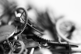 Cogs (Black and white)