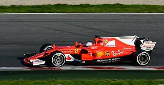 Ferrari  SF17-JB / Sebastian Vettel / GER / Scuderia Ferrari