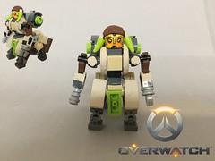 Lego Overwatch: Orisa (BossBricks) Tags: 2017 blizzard legooverwatch customlego custom lego overwatch orisa