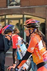 Christine Majerus, Nikki Brammeier (Harrie van den Elsen) Tags: boels christine majerus nikki brammeier ronde van drenthe 2016