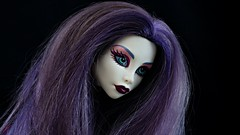 Only when the spirit moves me (Allan Saw) Tags: spectravondergeist monsterhigh doll toy ghost fenmale girl people person portrait colour color purple poltergeist