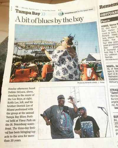 The Lee Boys/Tampa Bay Blues Festival