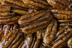 Macro Mondays - Glaze (cuppyuppycake) Tags: mcro monday pecans glazed hmm macromonday food nuts shiny