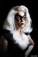 Black Cat Monroe... (Ring of Fire Hot Sauce 1) Tags: cosplay blackcat marilynmonroe toriacostuming portrait glamour wondercon