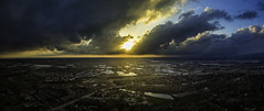 Storms (patkelley3) Tags: drone aerial storm rain clouds sun sunset sky