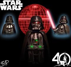 LEGO Star Wars-Modular Darth Vader (Sir Prime) Tags: lego starwars 40thanniversary rogueone rebels anewhope theempirestrikesback returnofthejedi empire darthvader anakinskywalker custom moc