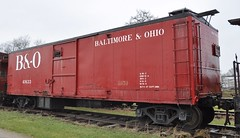 Coldwater, Michigan ( 9 of 10) (Bob McGilvray Jr.) Tags: coldwater mi michigan boxcar bo baltimoreohio railroad train tracks littleriverrailroad